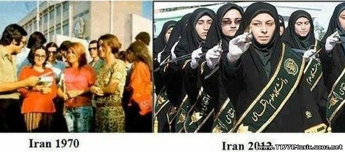Other video:: Iran Before 1979 & After